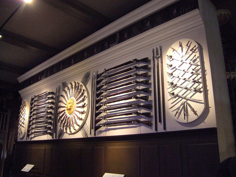 Display of Armaments in the Tower of London