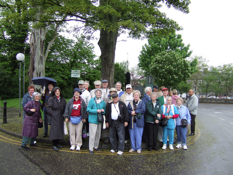 Me and the Tour Group