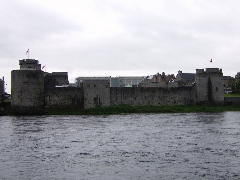 Fortress on the way to Galway