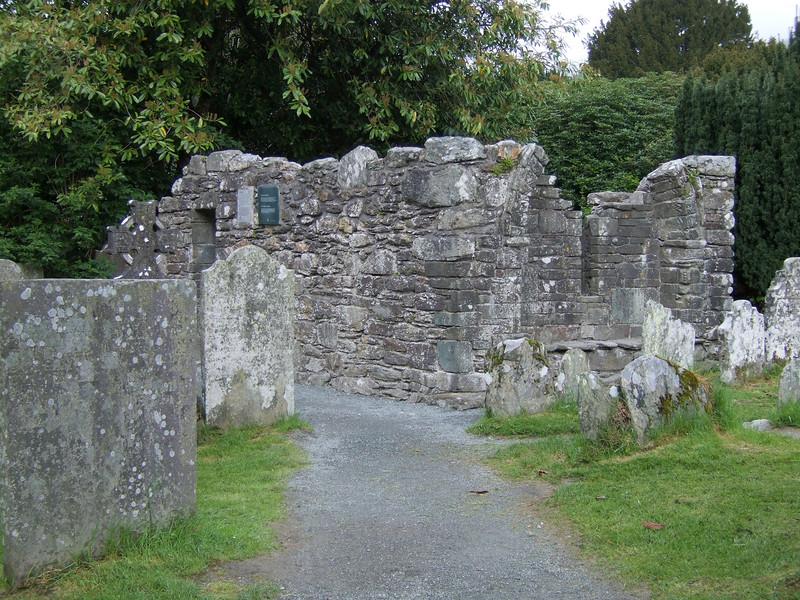 More Ruins at Saint Kevin's Monastery