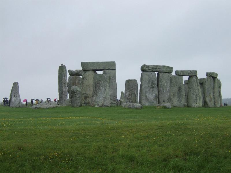 Stonehenge in the Rain