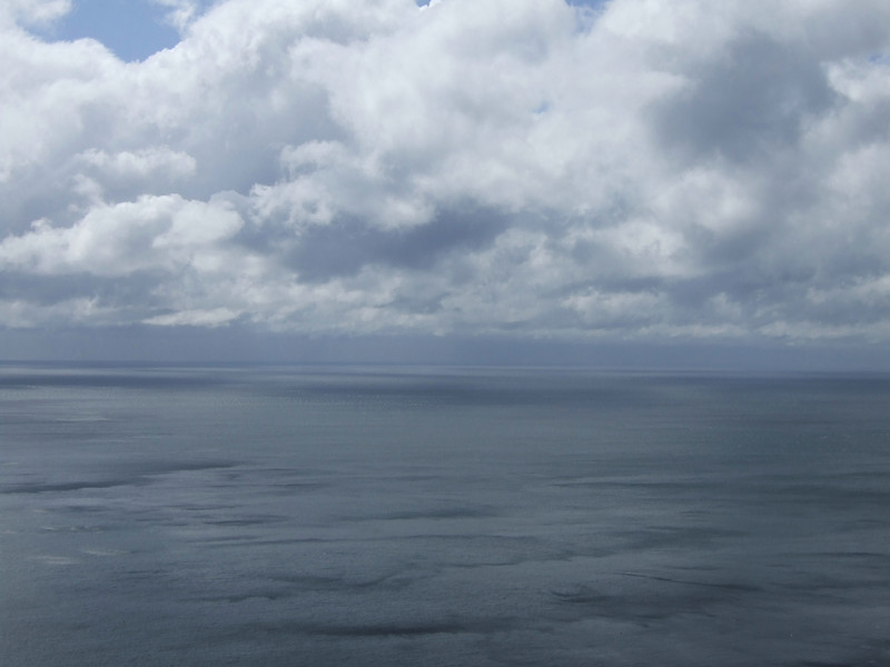 Ocean and Clouds on the Clare Coast