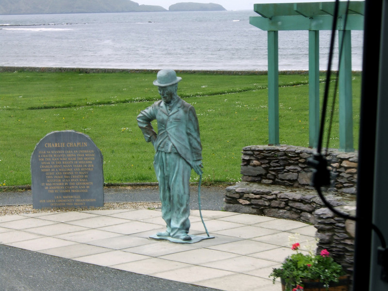 Tribute to Chaplin at Waterville