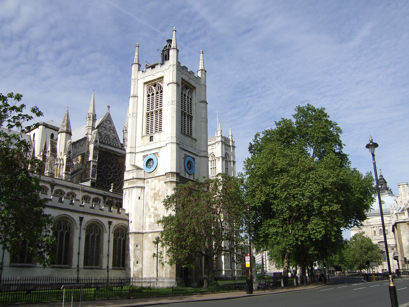 Streetside View - Saint Margaret's Church - London