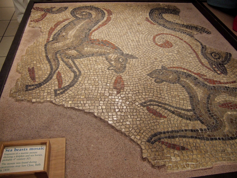 Mosaic from 400 AD