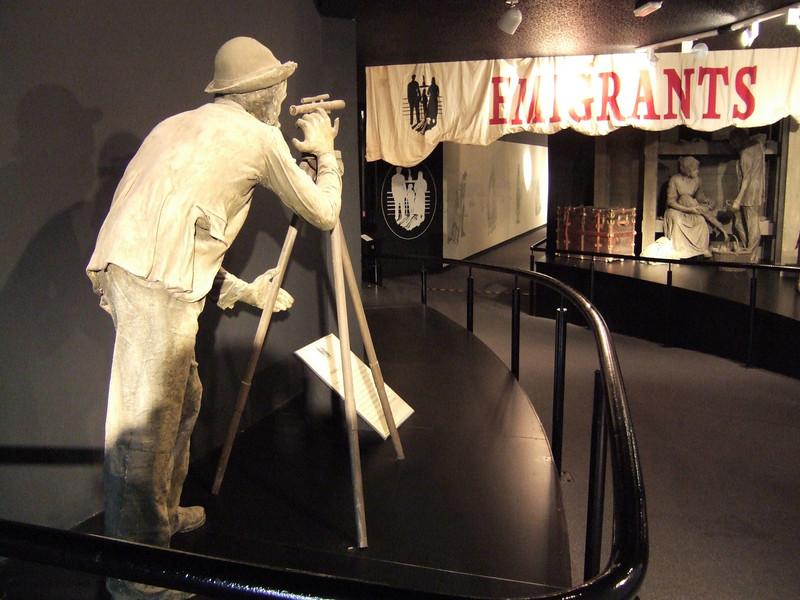Emigration - Ulster Park Museum - Derry