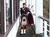 Bagpipes at McDonald's Highland Resort