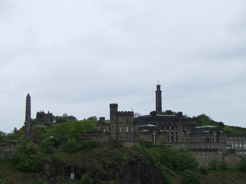 The Castle from Edinburgh