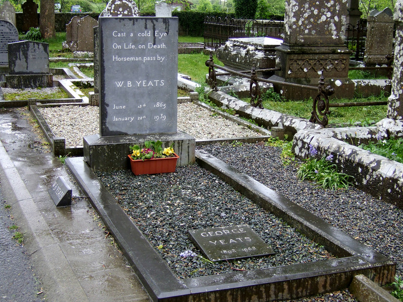 William Yeats Grave at Duncliffe