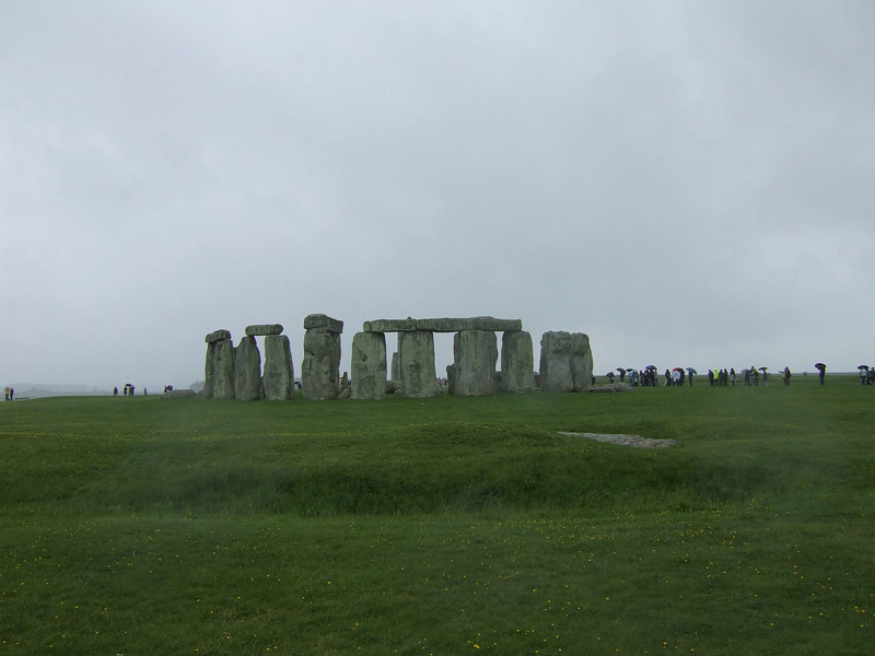 Stonehenge in the Rain