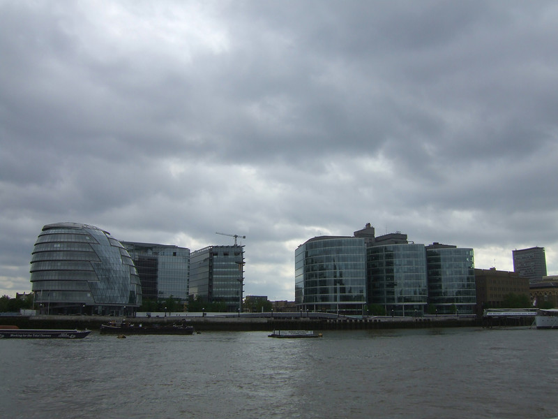 New Building on the Thames