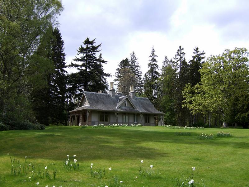 Balmoral Castle Garden Building - Scotland