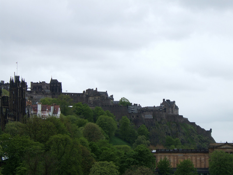 The Castle from Edinburgh