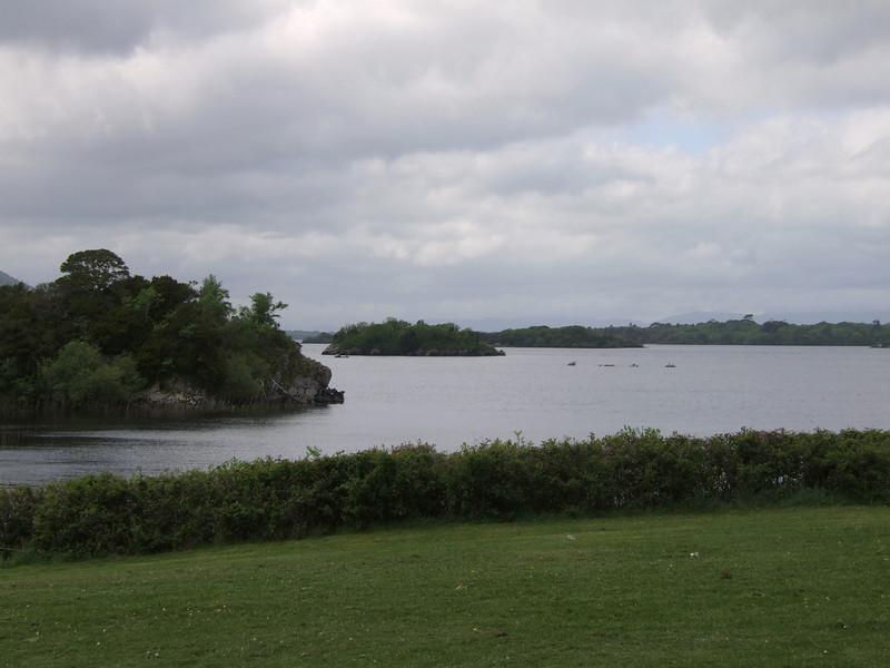 Lake on Muckross House Grounds