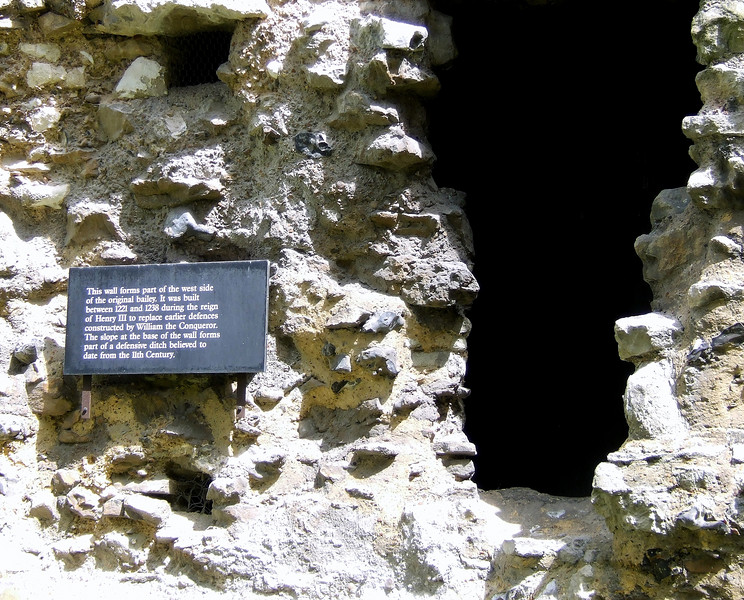 Original West Tower Wall