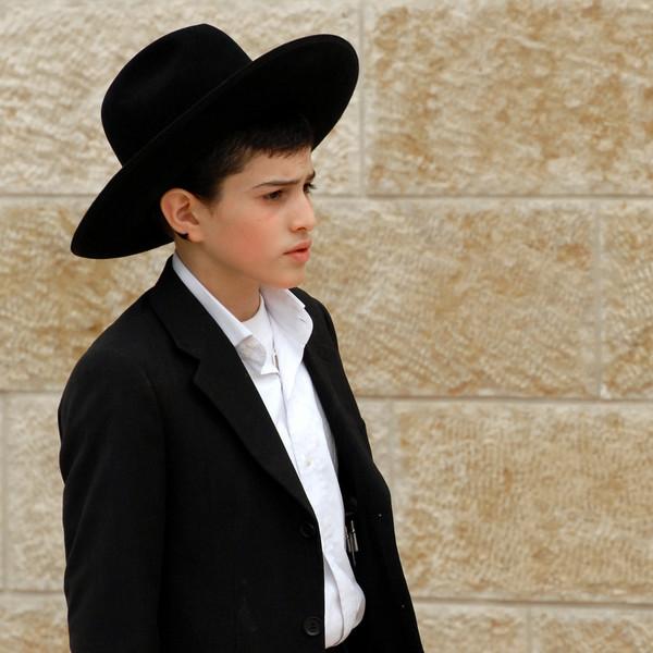 Young Orthodox boy.