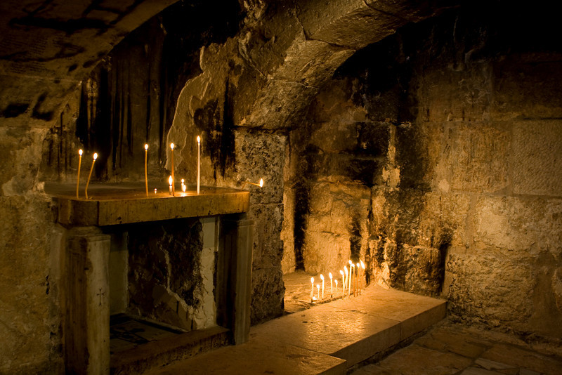 Inside the Church of the Holy Sepulchre