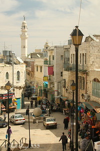 Walking down the streets of Bethlehem - Bethlehem, West Bank / Israel ... March 11, 2014 ... Photo by Rob Page III