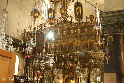 In the Church of the Nativity on the location where Jesus is believed to have been born - Bethlehem, West Bank / Israel ... March 11, 2014 ... Photo by Rob Page III