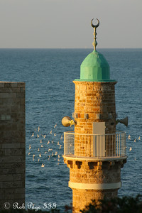 The al Bahr Mosque - Jaffa, Israel ... March 10, 2014 ... Photo by Rob Page III
