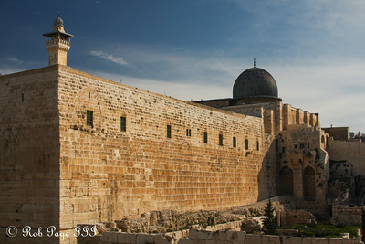 The al Aqsa Mosque - Jerusalem, Israel ... March 11, 2014 ... Photo by Rob Page III