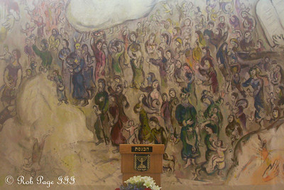 A mural at the Knesset representing local society - Jerusalem, Israel ... March 13, 2014 ... Photo by Rob Page III