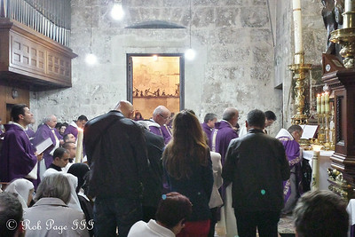 The Church of the Holy Sepulchre on a Sunday morning - Jerusalem, Israel ... March 9, 2014 ... Photo by Rob Page III