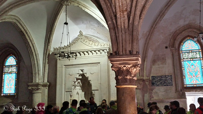 Room of the Last Supper - Jerusalem, Israel ... March 13, 2014 ... Photo by Rob Page III