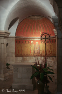 The Abbey of the Dormition at Mt. Zion - Jerusalem, Israel ... March 13, 2014 ... Photo by Rob Page III