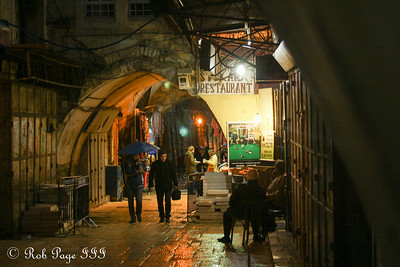 Walking the streets of the Old Town - Jerusalem, Israel ... March 12, 2014 ... Photo by Rob Page III