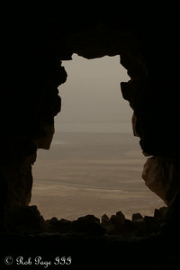 Looking out from the Masada - Masada National Park, Israel ... March 8, 2014 ... Photo by Rob Page III