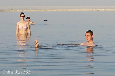 Enjoying the Dead Sea - Dead Sea, Israel ... March 8, 2014 ... Photo by Liora Bowers