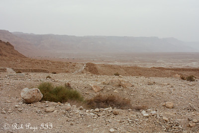 The Judean Desert below the Masada complex - Masada National Park, Israel ... March 8, 2014 ... Photo by Rob Page III