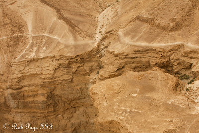 The Judean Desert  next to the Masada - Masada National Park, Israel ... March 8, 2014 ... Photo by Rob Page III