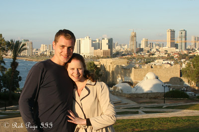 Rob and Emily - Jaffa, Israel ... March 10, 2014