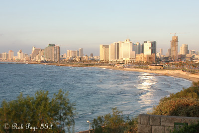 Tel Aviv at sunset - Jaffa, Israel ... March 10, 2014 ... Photo by Rob Page III
