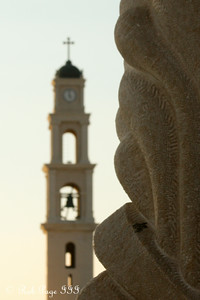 Sunset with St. Michael Church - Jaffa, Israel ... March 10, 2014 ... Photo by Rob Page III
