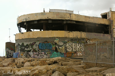 A nightclub on the coast blown out by a suicide bomber in 2001 - Tel Aviv, Israel ... March 10, 2014 ... Photo by Rob Page III