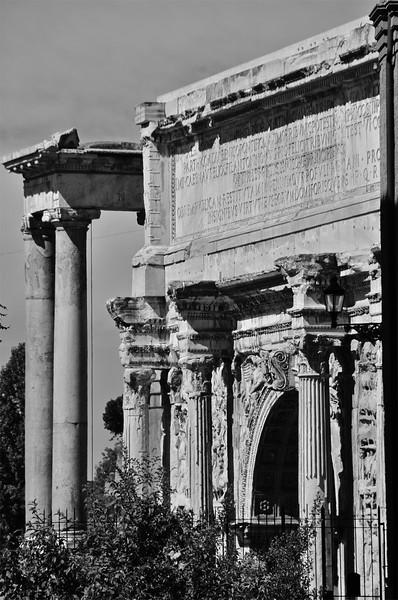 Arch of Septimius Severus, Roman Forum