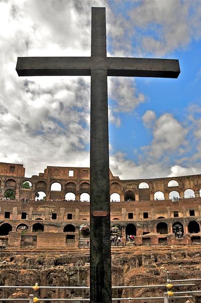 Colloseium Cross,Rome