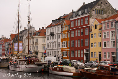 The Nyhavn waterfront - Copenhagen, Denmark ... June 2, 2013 ... Photo by Rob Page III