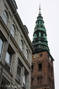 St. Nicholas Church above the Amagertorv Square - Copenhagen, Denmark ... June 2, 2013 ... Photo by Rob Page III