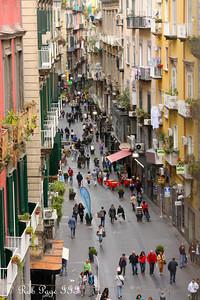 Walking along Vico S. Spirito di Palazzo - Naples, Italy ... May 25, 2013 ... Photo by Rob Page III