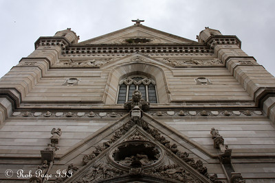 The front of the Naples Cathedral - Naples, Italy ... May 24, 2013 ... Photo by Rob Page III