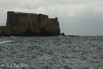 Castel dell'Ovo with sailboats in the distance - Naples, Italy ... May 25, 2013 ... Photo by Rob Page III