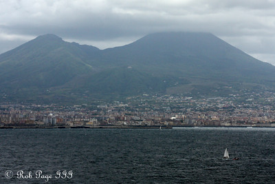 Mt. Vesuvius from Castel dell'Ovo - Naples, Italy ... May 25, 2013 ... Photo by Rob Page III