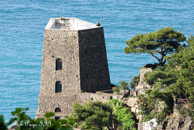 A historic Positano guard tower. It is now a house. - Positano, Italy ... May 23, 2013 ... Photo by Rob Page III