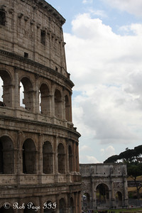 The Colosseum - Rome, Italy ... June 1, 2013 ... Photo by Rob Page III