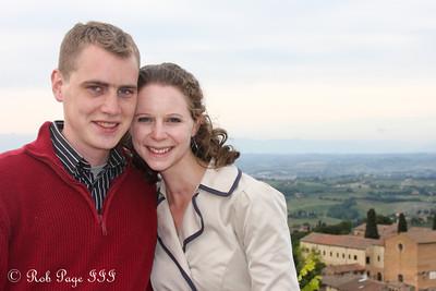 Enjoying a beautiful day - San Gimignano, Italy ... May 27, 2013