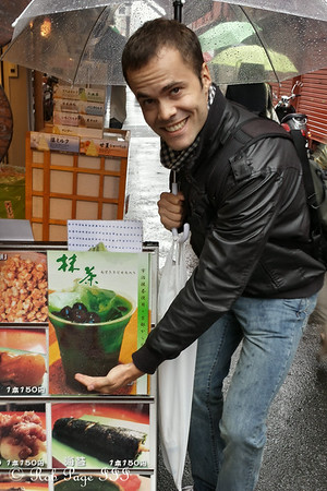 Bubble Tea for Kevin - Tokyo, Japan ... June 7, 2014 ... Photo by Rob Page III